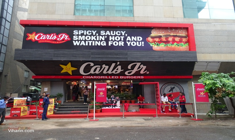 BrightStar a franchise partner of Carl's Jr plans to triple its footprint and seek investment in India