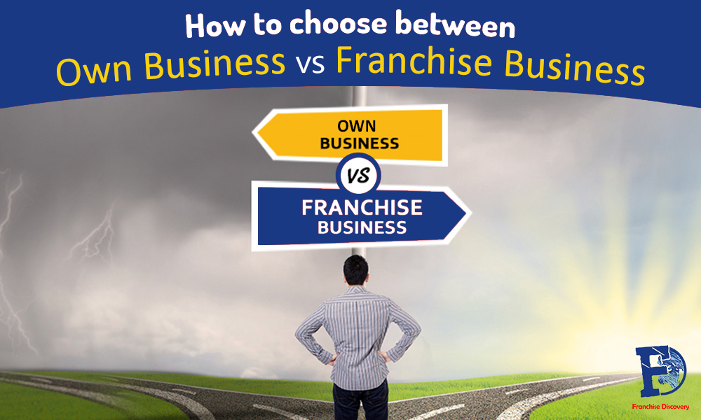 Buying a Franchise or starting a business? Which is better?